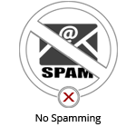 Don't look like spam