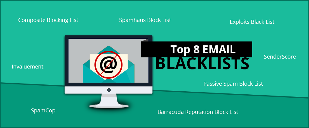 Top 8 email blacklists