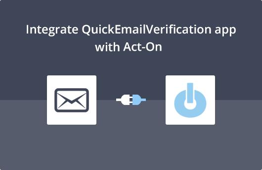 Act-On Integration