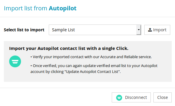 Import Subscriber Lists from Autopilot