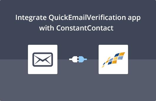 ConstantContact Integration