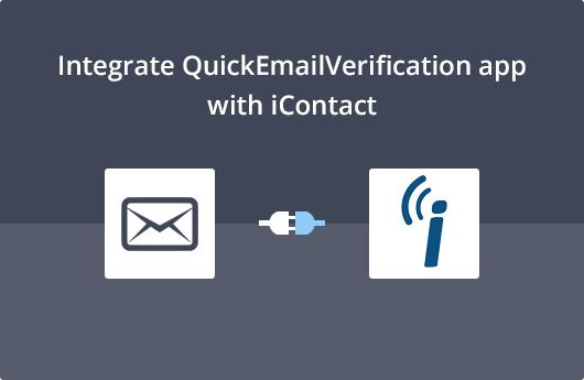 iContact Integration