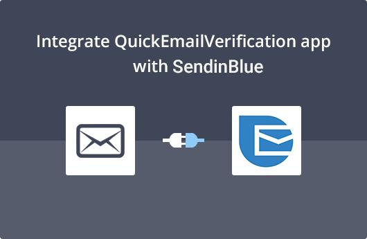 SendinBlue Integration