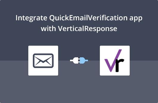 VerticalResponse Integration